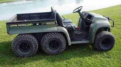 My John Deere Gator Like A Boss Simple Justice