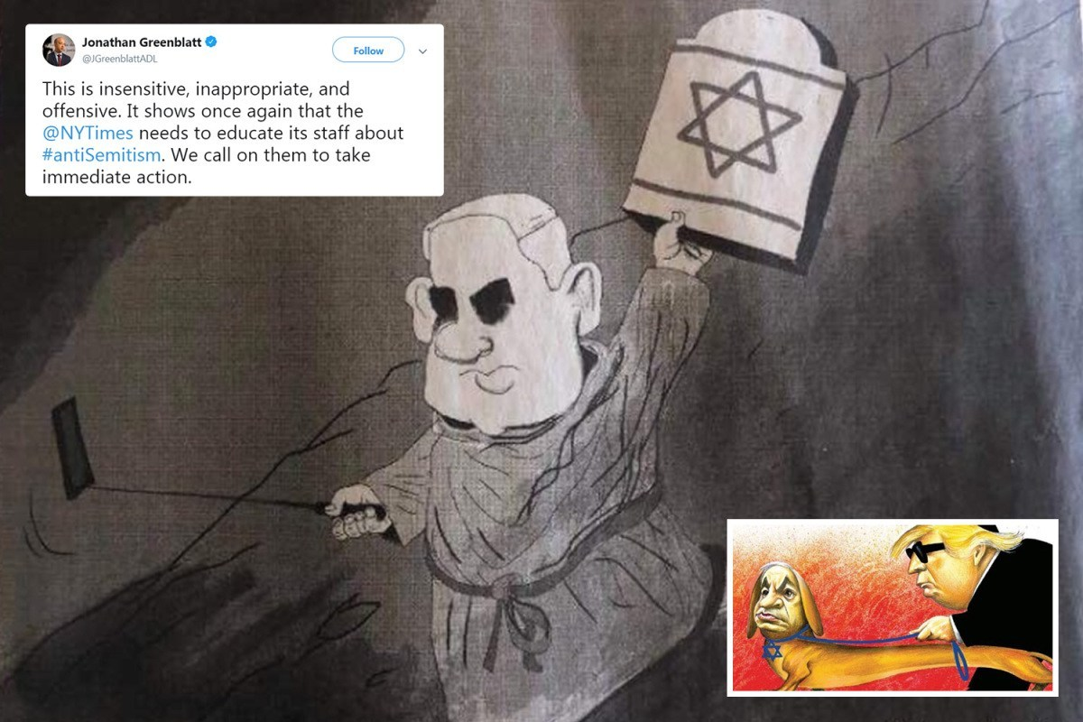 New York Times Publishes Another Anti Semitic Cartoon Just Days